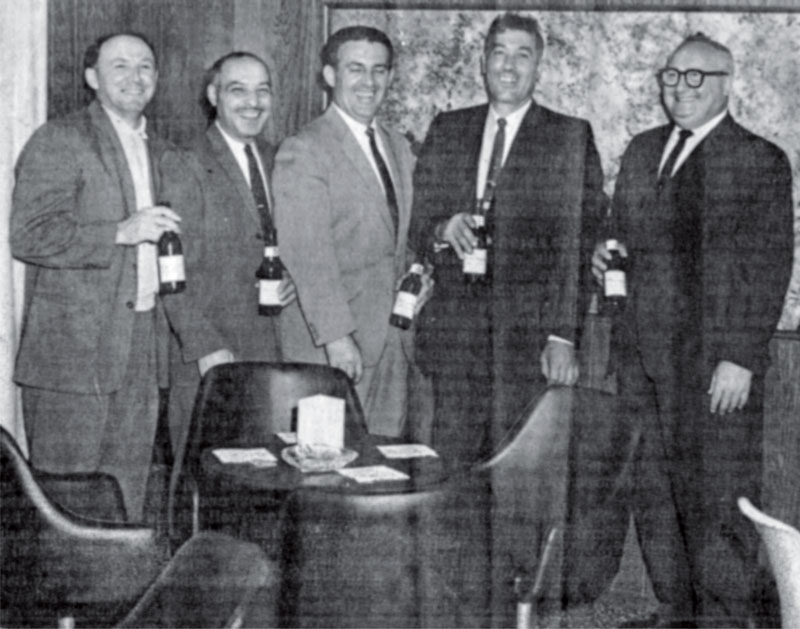 Muxie Employees from the 1960s