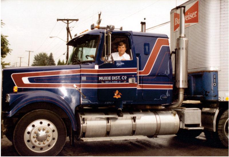 1980s Delivery semi.