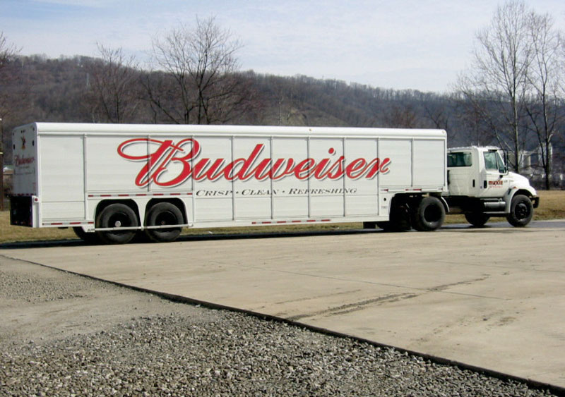 2000 Budweiser Delivery Truck